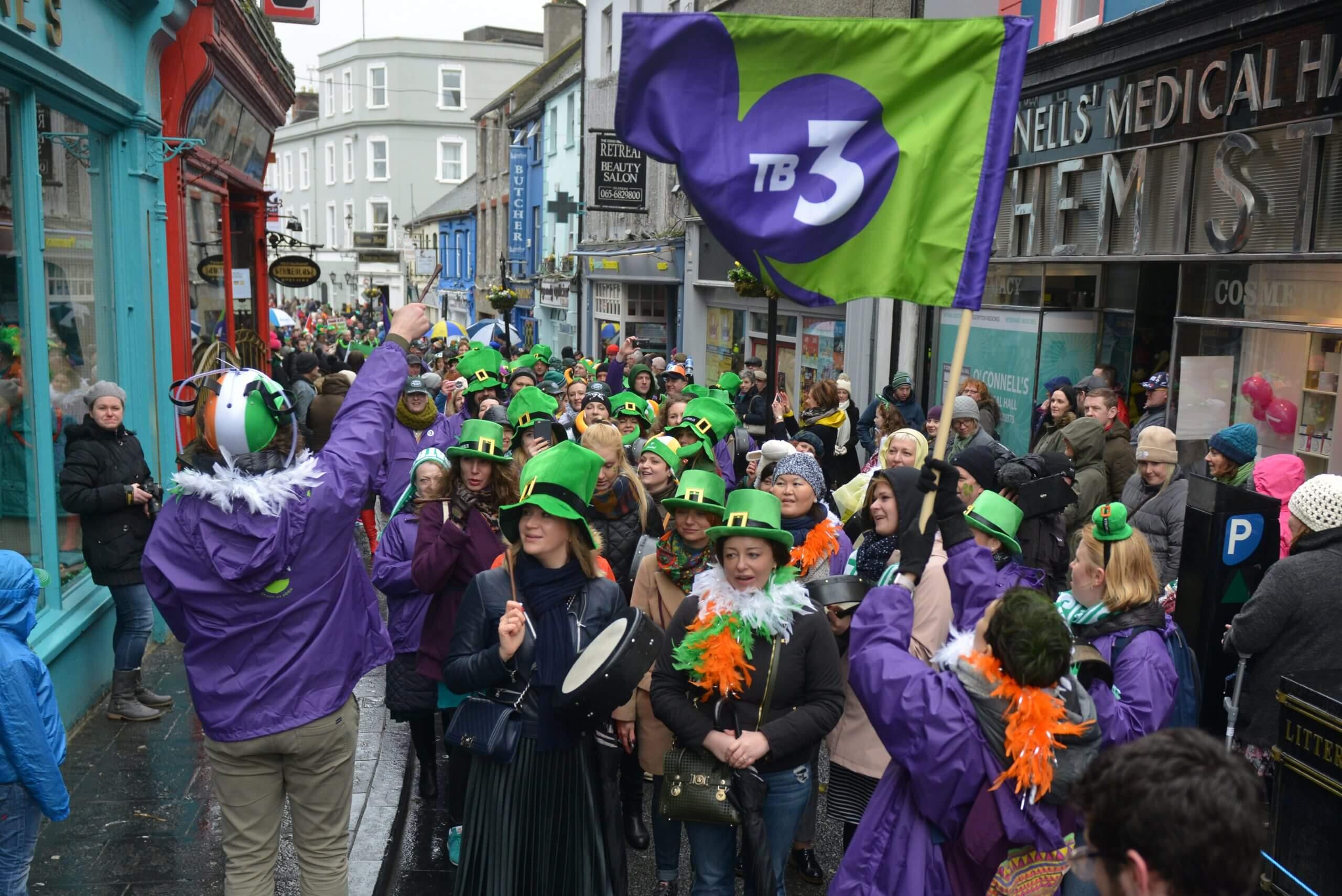 St Patricks Parade in Ireland