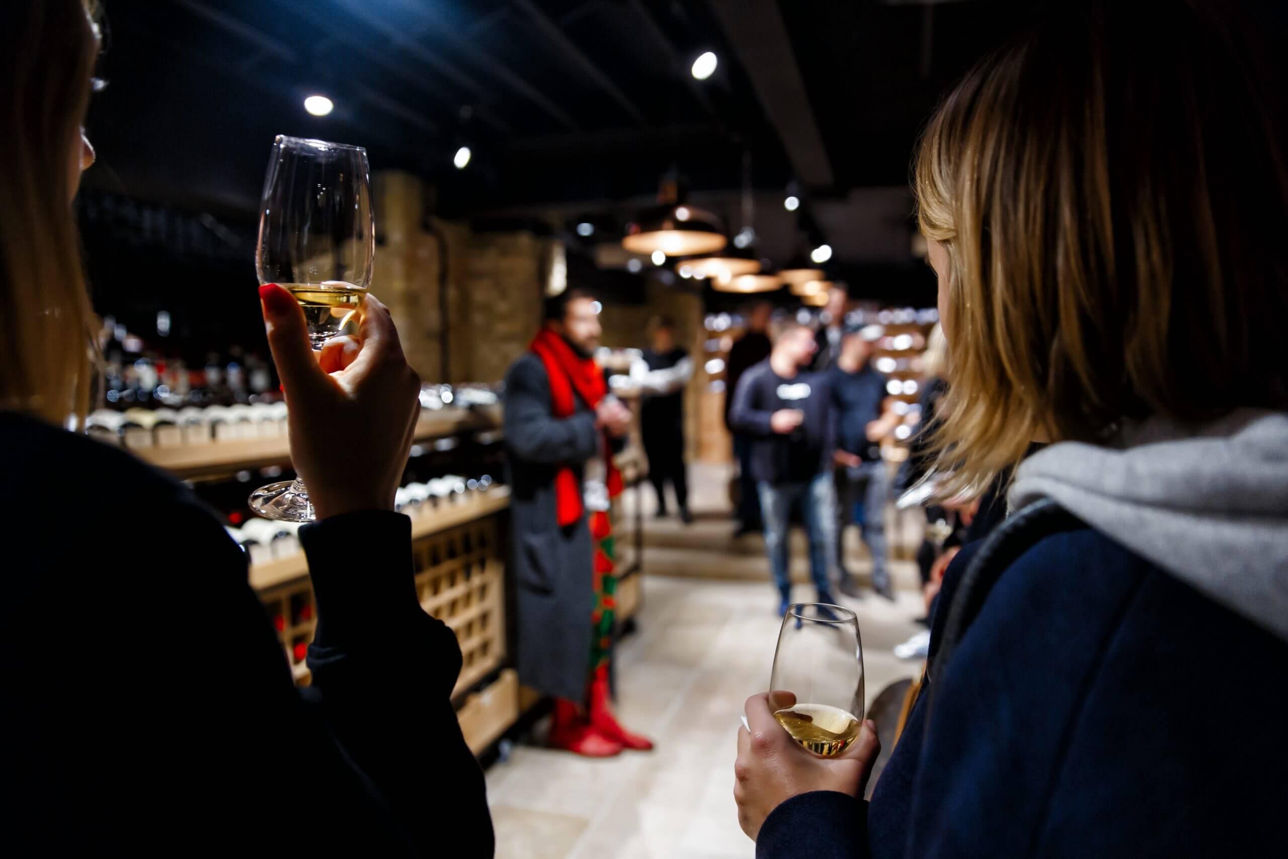 Wine Testing London'