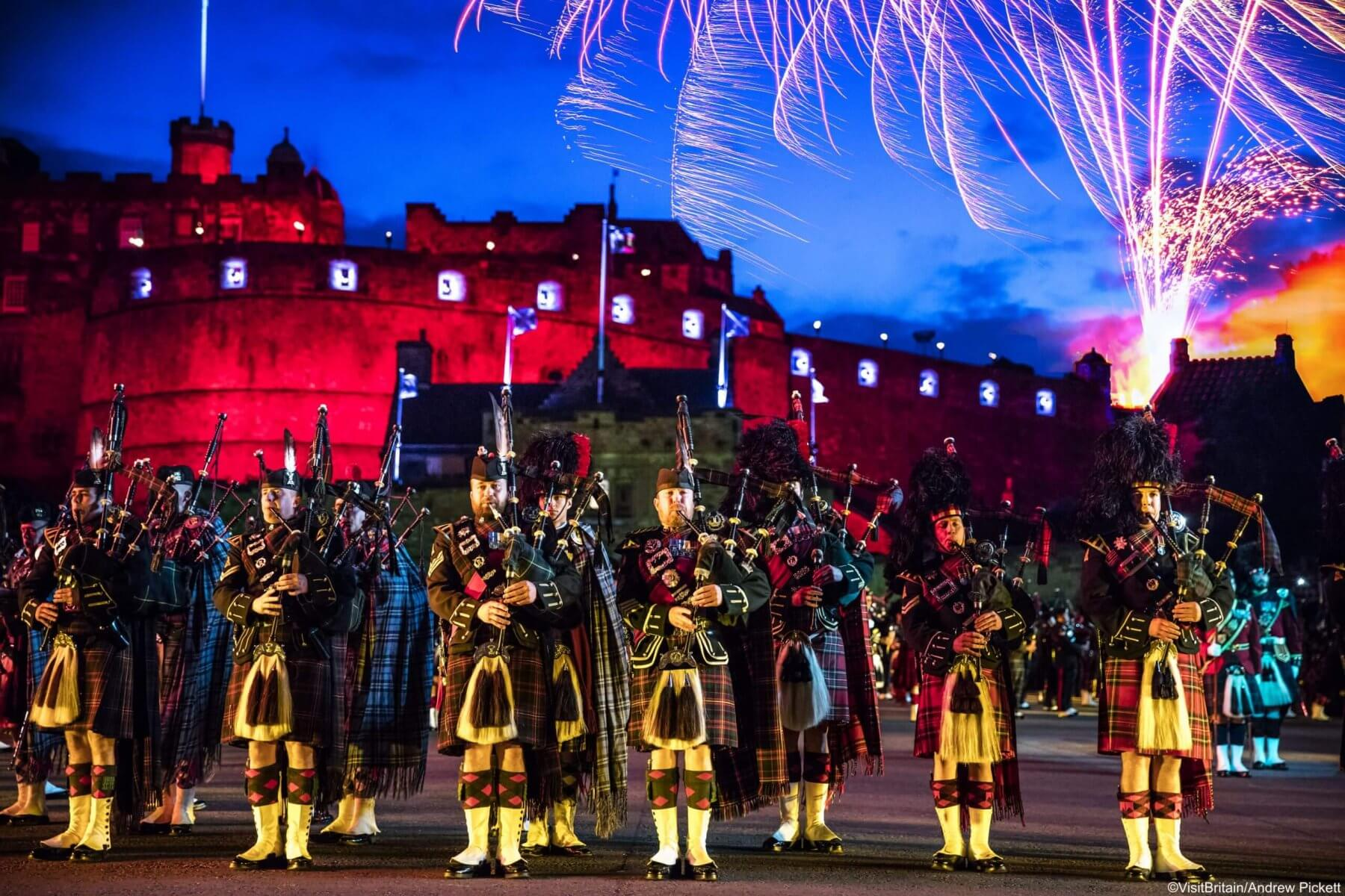 Performance at Edinburgh Military Tattoo