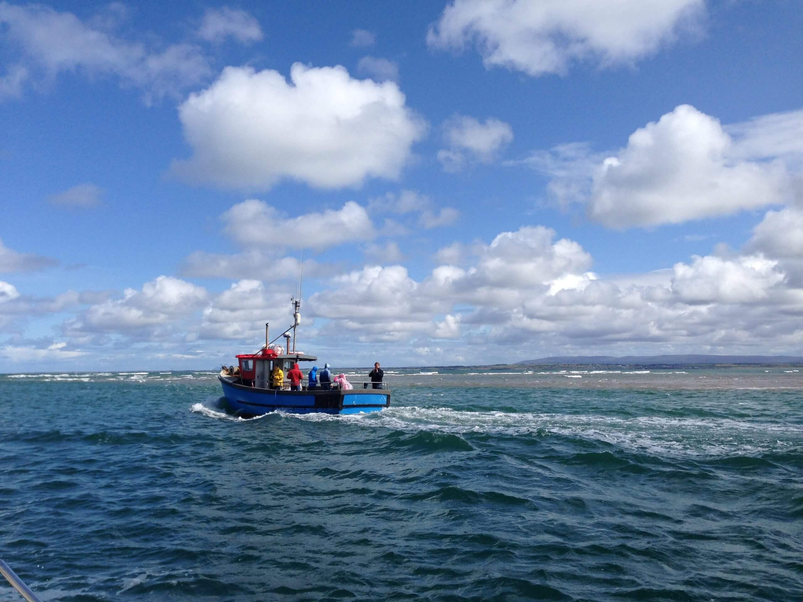 Boat Trip on Sea
