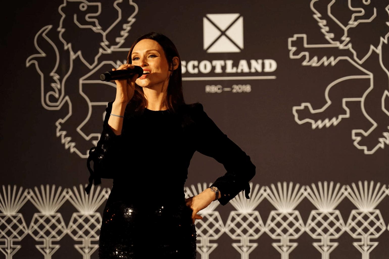 Women on Mic in Scotland