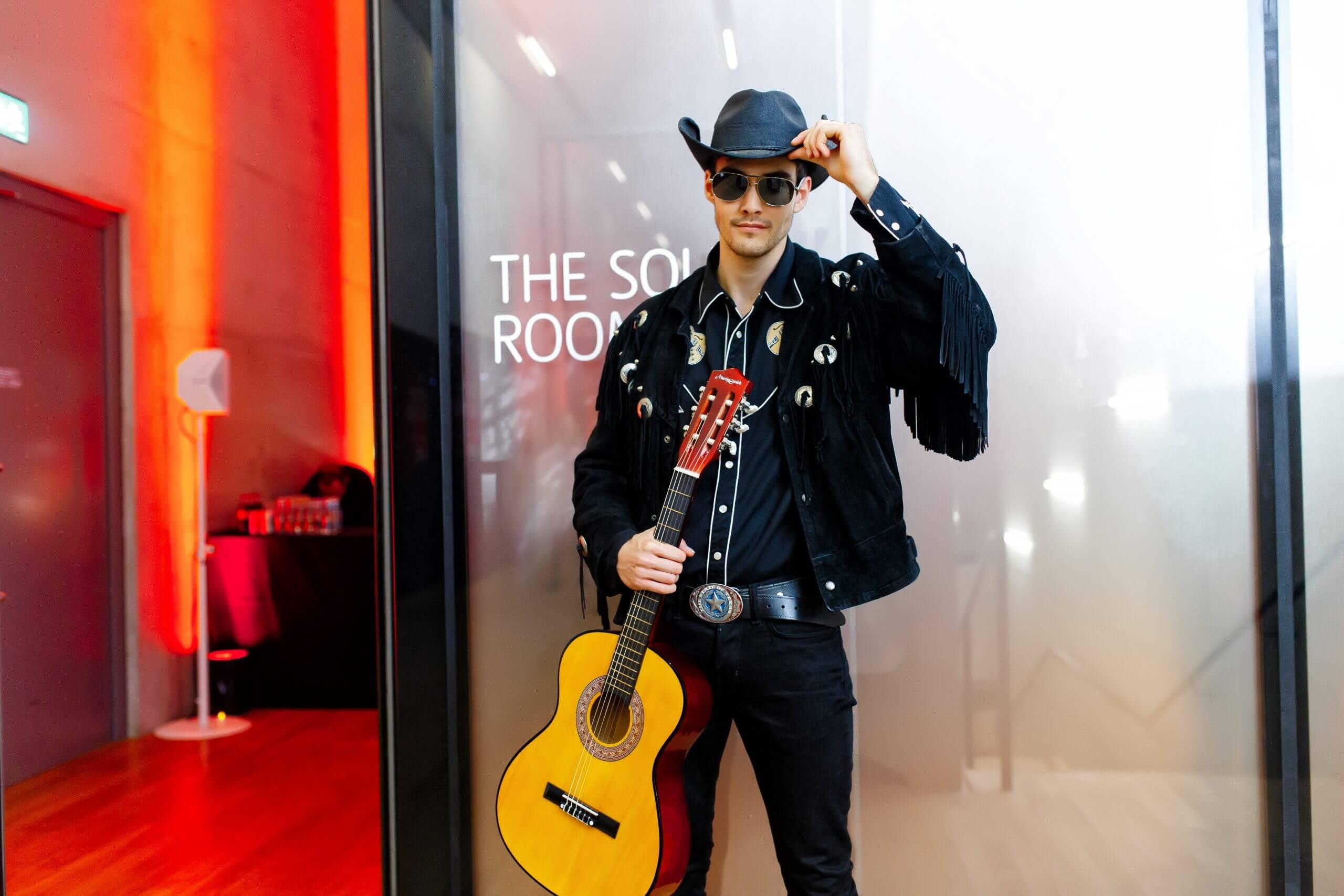 Cowboy Guitarist'