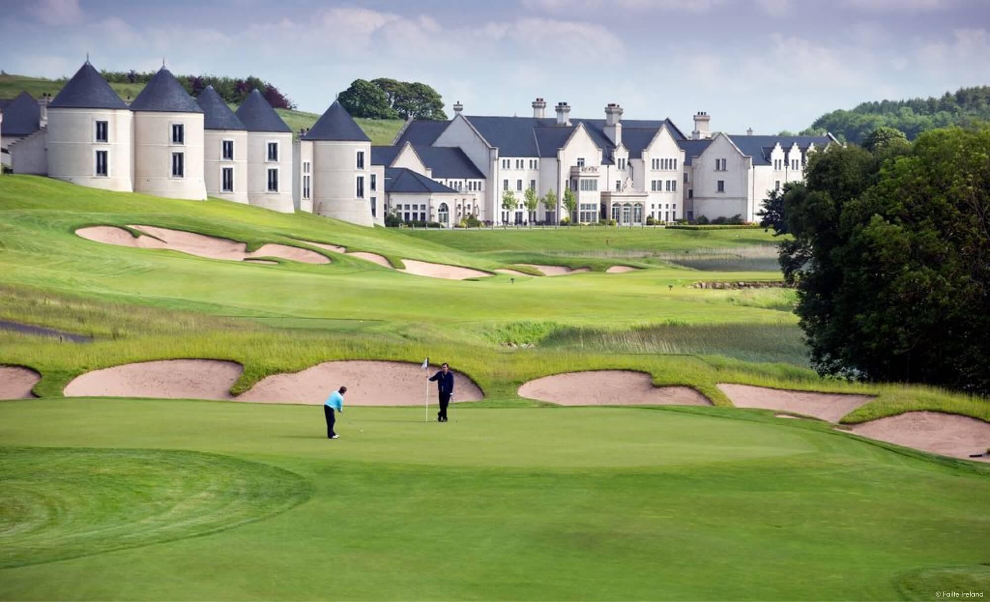 Northern Ireland Golf Course'