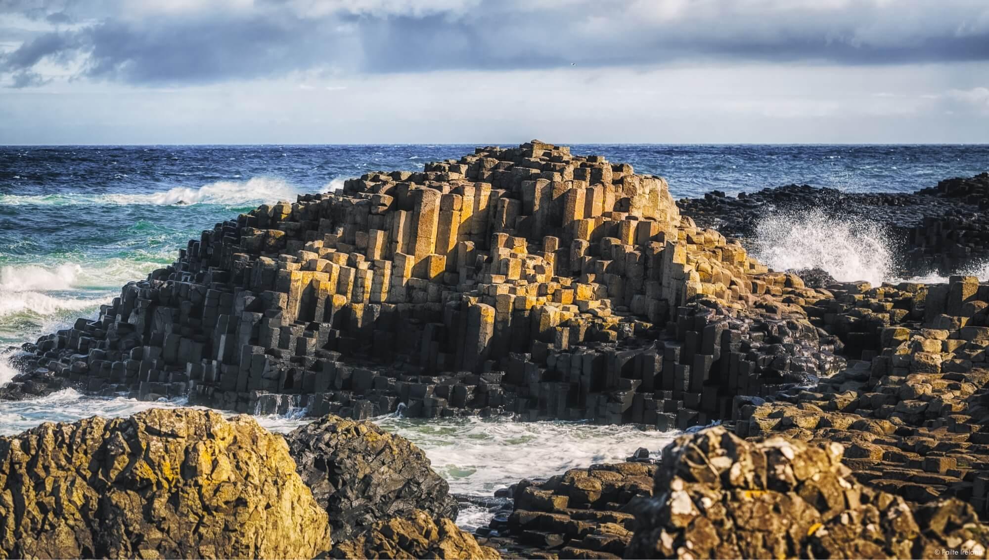 Northern Ireland Rocky Beach'
