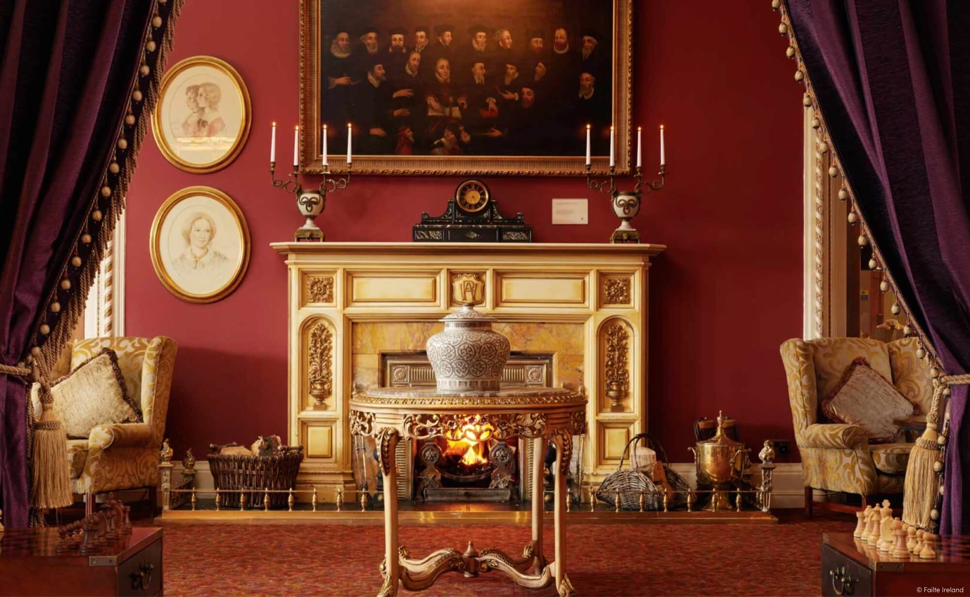 Northern Ireland Antique Room'