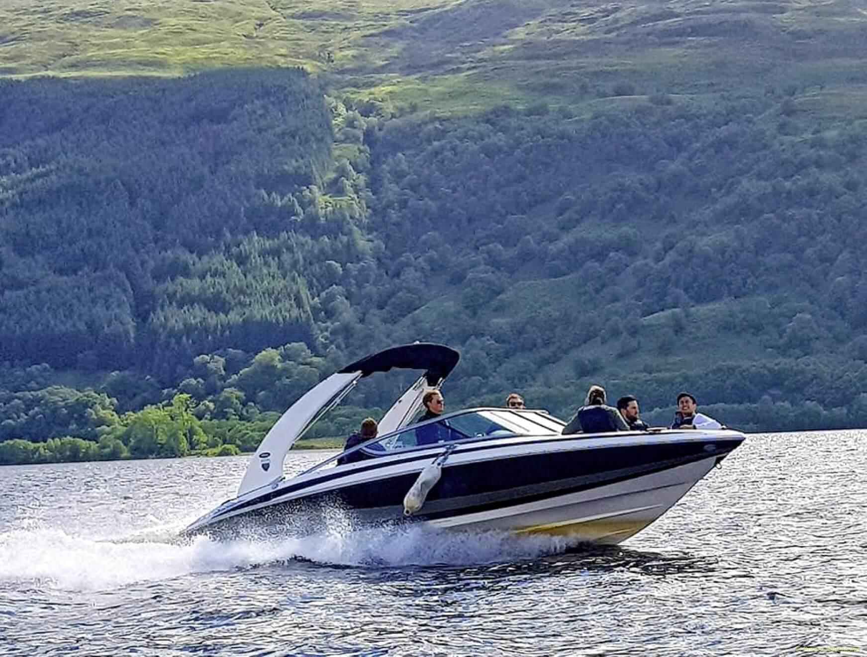 People on Speedboat